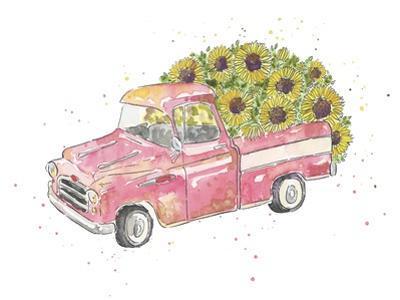 Flower Truck III by Catherine McGuire