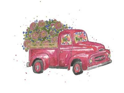 Flower Truck IV by Catherine McGuire