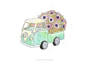 Flower Truck V by Catherine McGuire
