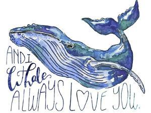 Whale Love I by Catherine McGuire