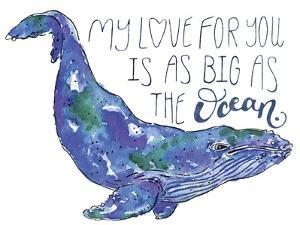 Whale Love II by Catherine McGuire
