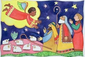 Annunciation to the Shepherds by Cathy Baxter