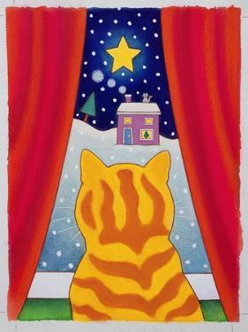 Cat at the Window by Cathy Baxter