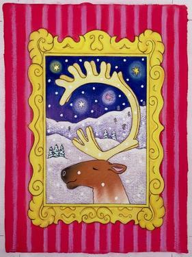 Christmas Antlers, 1996 by Cathy Baxter