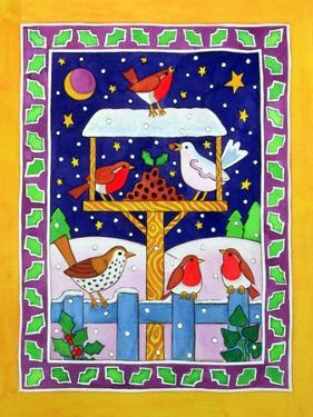 Christmas Feast for the Birds by Cathy Baxter