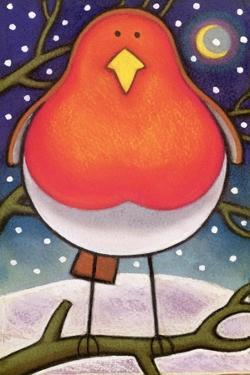Christmas Robin, 1997 by Cathy Baxter