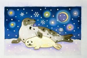 Cosmic Seals, 1997 by Cathy Baxter