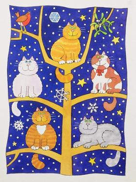 Five Christmas Cats by Cathy Baxter