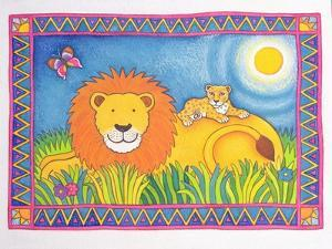 Lion in the Sun, 1997 by Cathy Baxter