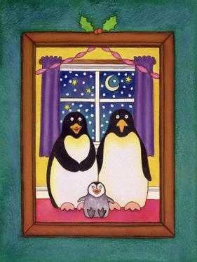 Penguin Family Christmas, 1997 by Cathy Baxter