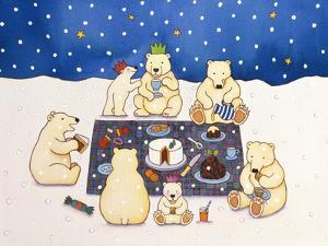 Polar Bear Picnic, 1997 by Cathy Baxter