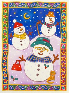 Snowmen in the Snow by Cathy Baxter