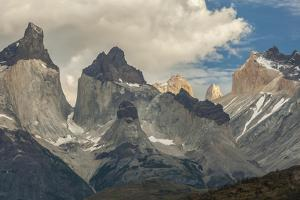 Chile, Patagonia, Torres del Paine NP. the Horns Mountains by Cathy & Gordon Illg