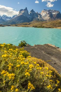 Chile, Patagonia, Torres del Paine NP. the Horns Mts and Lago Pehoe by Cathy & Gordon Illg