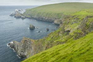 Europe, Scotland, Shetland Islands. Island of Unst Landscape by Cathy & Gordon Illg