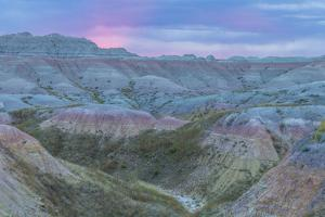USA, South Dakota, Badlands National Park. Wilderness Landscape by Cathy & Gordon Illg