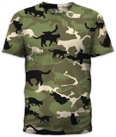 Catmouflage (slim fit)