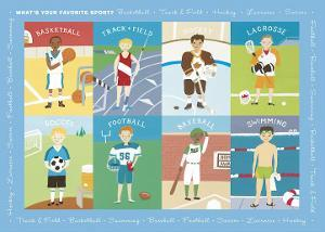 What's Your Favorite Sport? by Catrina Genovese