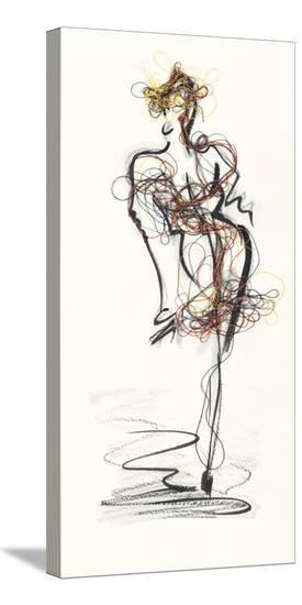 Catwalk Glamour I-Lou Lacroix-Stretched Canvas