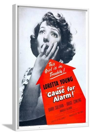 Cause for Alarm!--Framed Art Print