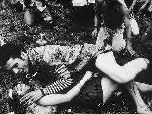 Cavorting Hippies 1967