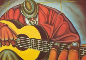 Bluez Man II by Cbabi Bayoc