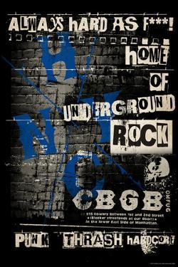 CBGB & OMFUG  - Graffiti Wall