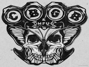 CBGB & OMFUG  - Grey Skull