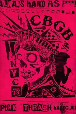 CBGB & OMFUG - Punk Thrash (Pink)