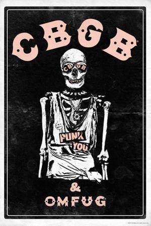 CBGB & OMFUG - Skeleton
