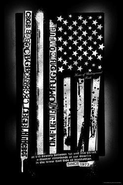 CBGB & OMFUG  - USA Flag