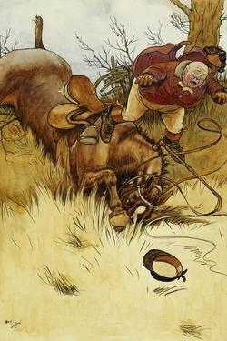 A Fall's a Hawful Thing by Cecil Aldin