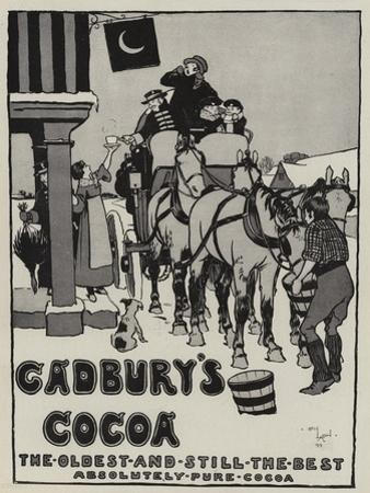 Advertisement, Cadbury's Cocoa by Cecil Aldin