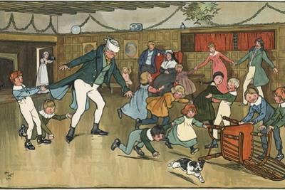 Christmas Fun by Cecil Aldin