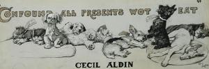 Confound All Presents Wot Eat by Cecil Aldin