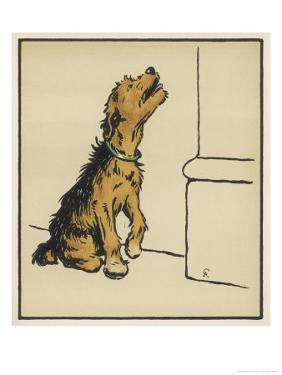 Dog in a Green Collar by Cecil Aldin