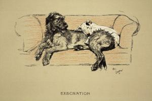 Execration, 1930, 1st Edition of Sleeping Partners by Cecil Aldin