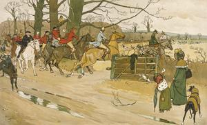 Fallowfield Hunt by Cecil Aldin