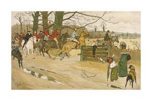 Fallowfield Hunt by Cecil Aldin