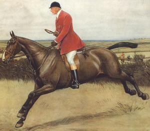 Huntsman by Cecil Aldin