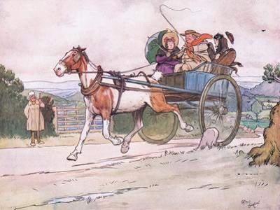 I Drove the Old Piebald by Cecil Aldin