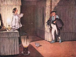 "I Trust Ma'Am, Resumed Mr Pickwick, That My Unblemished Character and.."" by Cecil Aldin"