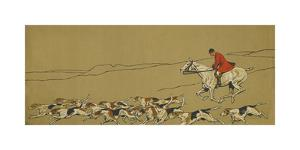In the Wake of his Darlings by Cecil Aldin