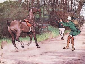 Mr Pickwick Ran to His Assistance by Cecil Aldin