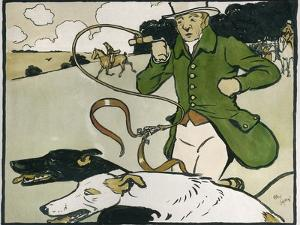 Old English Sports and Games: Coursing, 1901 by Cecil Aldin