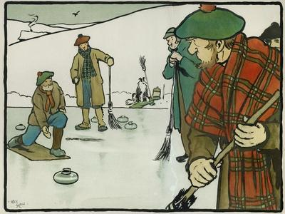 Old English Sports and Games: Curling, 1901