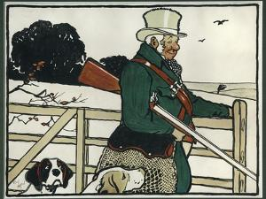 Old English Sports and Games: Shooting, 1901 by Cecil Aldin
