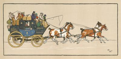 Stagecoach I by Cecil Aldin