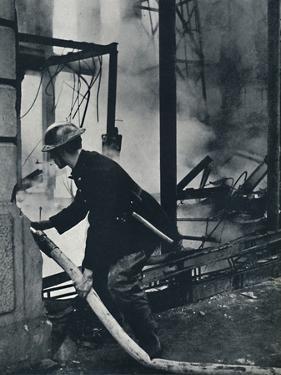 'Fireman', 1941 by Cecil Beaton
