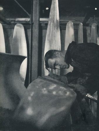 'Measuring airscrew blades', 1941 by Cecil Beaton